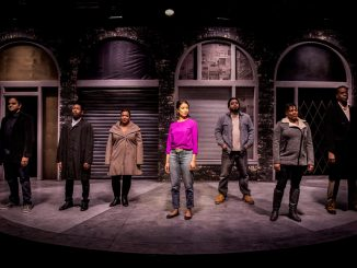 The cast of Rightlynd onstage